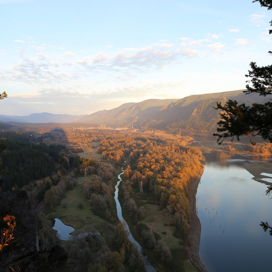 Hiking in the Columbia River Gorge
