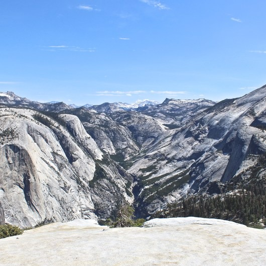 Half Dome via Mist Trail