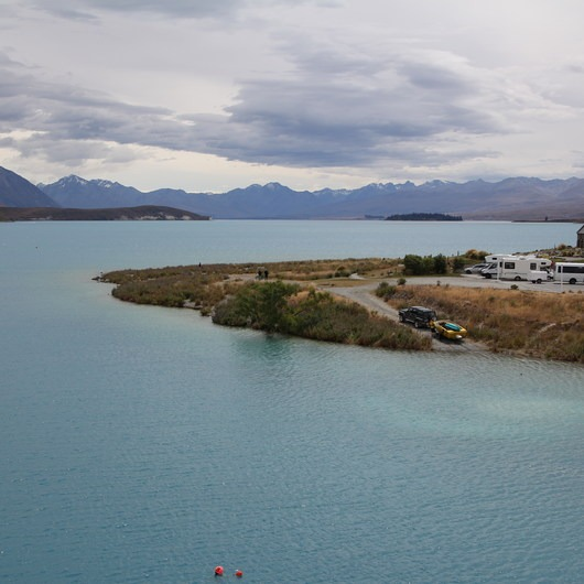 Lake Tekapo + Church of the Good Shepherd