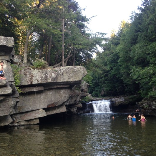 Bristol (Bartlett) Falls + Circle Current Swimming Hole