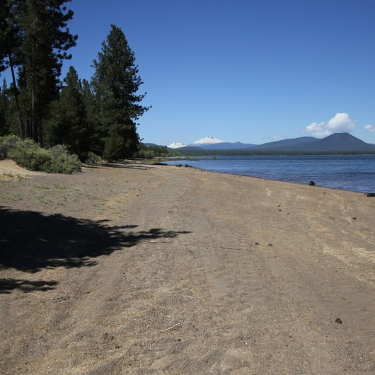 Campground Diamond: Diamond Peak, Marie + Rockpile Lakes