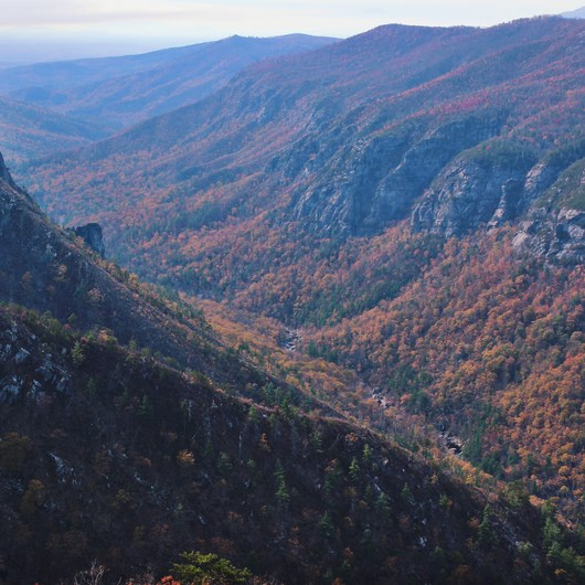 Table Rock near the Linville Gorge Wilderness