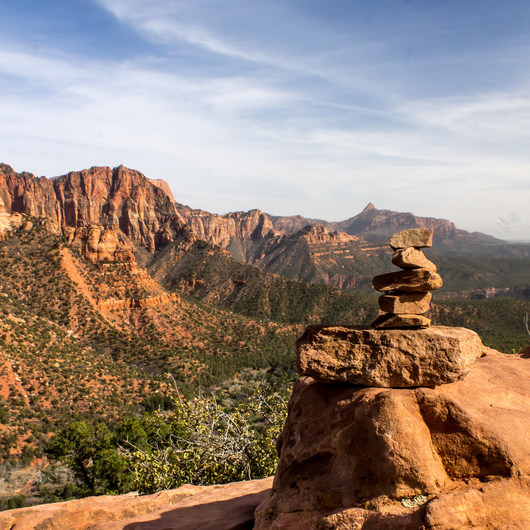 Kolob Canyons Viewpoint + Timber Creek Overlook Trail