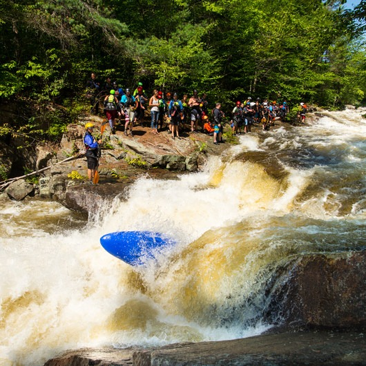 Beaver River: The Spillway to Moshier Falls