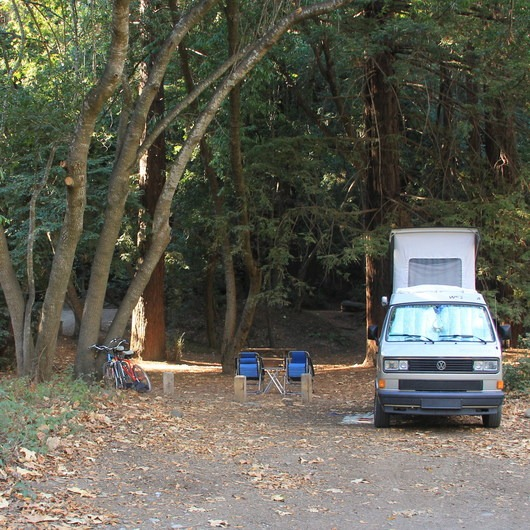 Pfeiffer Big Sur State Park Campground