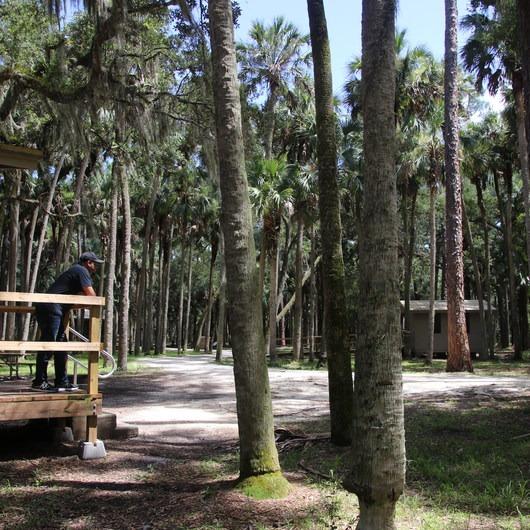Hontoon Island State Park Campground
