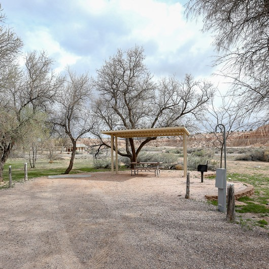 Cathedral Gorge State Park Campground