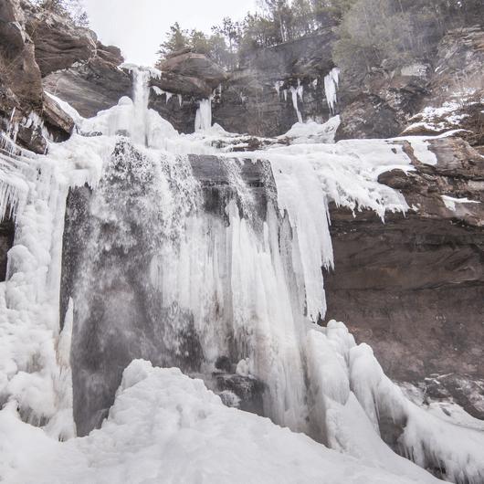 Kaaterskill Falls Snowshoe