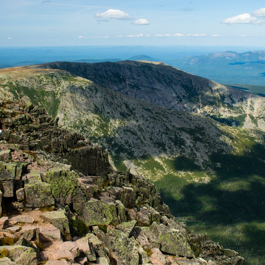 Mount Katahdin via the Knife Edge + Hamlin Ridge Trails
