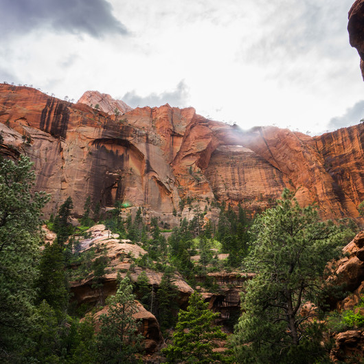 Kolob Canyon via La Verkin Creek Trail