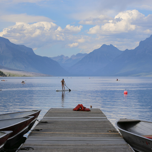 Lake McDonald Paddle