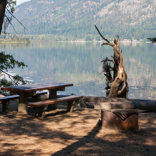 Glacier View Campground, Lake Wenatchee
