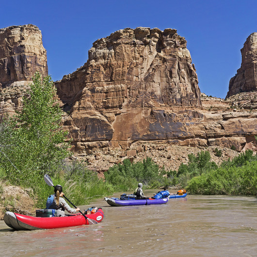 San Rafael River: The Little Grand Canyon