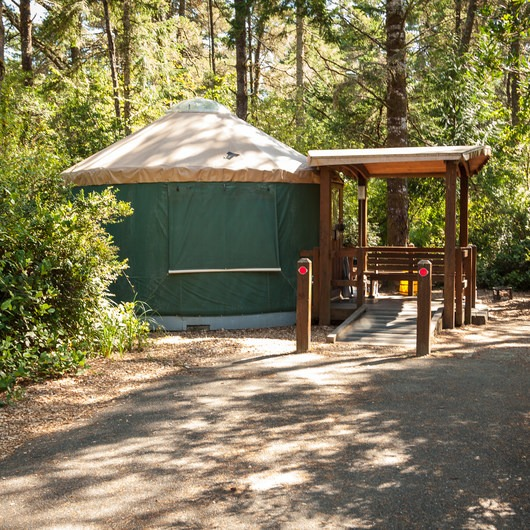 William M. Tugman State Park Campground