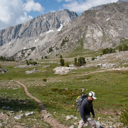 Broad Canyon: Betty, Goat + Baptie Lakes and the Surprise Valley Divide