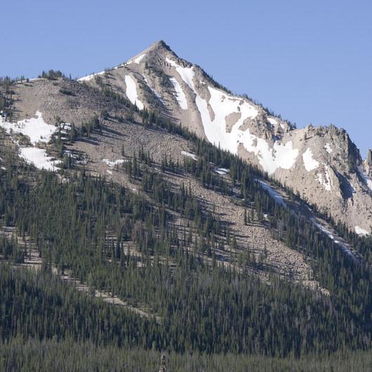Alpine Way Trail, Redfish to Huckleberry Creek