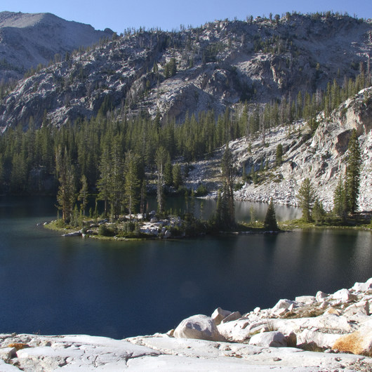 Middle Fork of the Boise River, Camp Lakes and Flytrip Basin