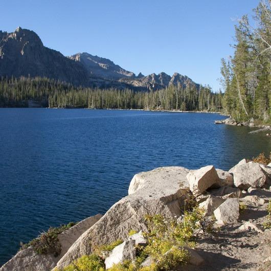 Imogene Lake + Divide