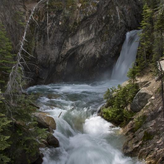 Stanley Lake Creek + Lady Face Falls
