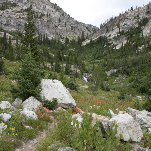 Middle Fork of the Boise River, Mattingly Creek and Divide