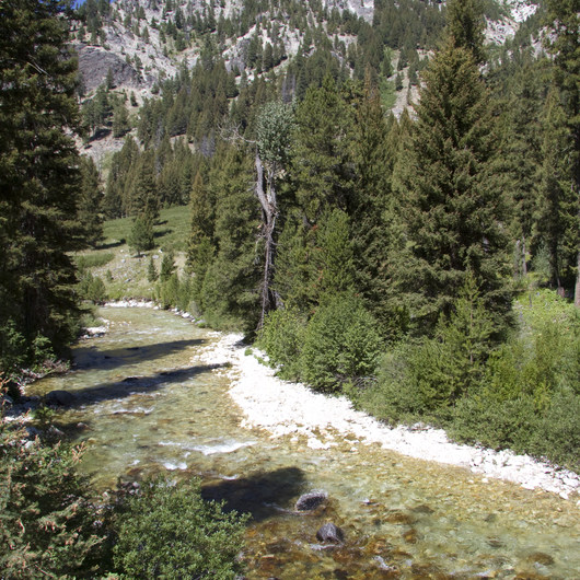 Middle Fork of the Boise River, Powerplant Trailhead to Mattingly Junction