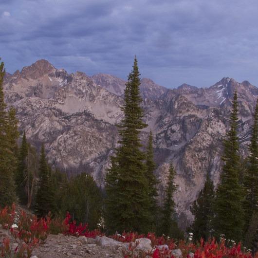 Stanley Lake Creek , Observation Peak + Divide