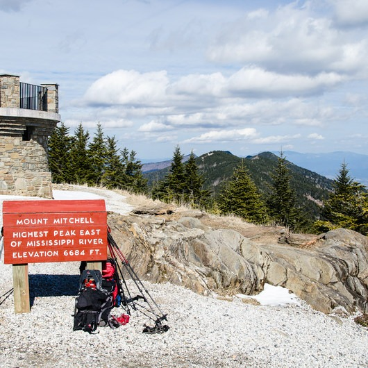 Mount Mitchell via Black Mountain Campground