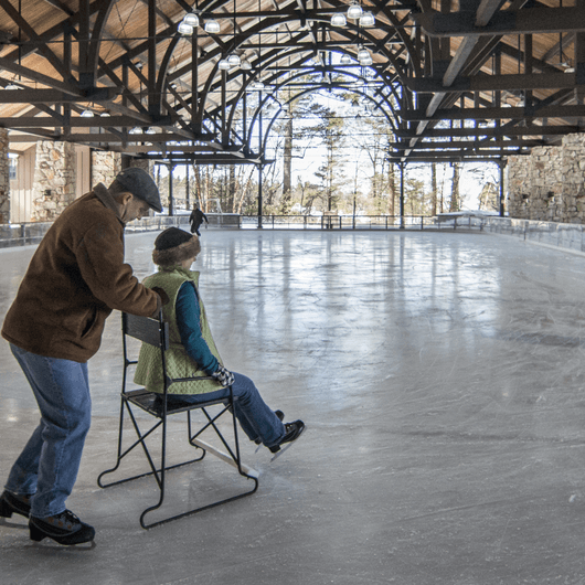 Mohonk Ice Skating Pavilion