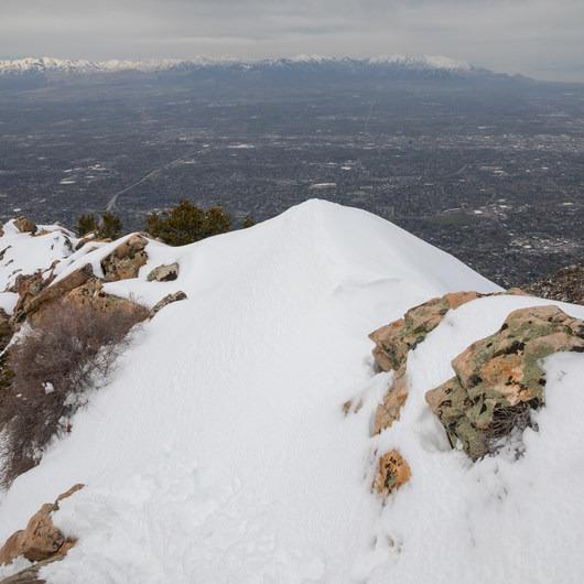 Mount Olympus Snowshoe
