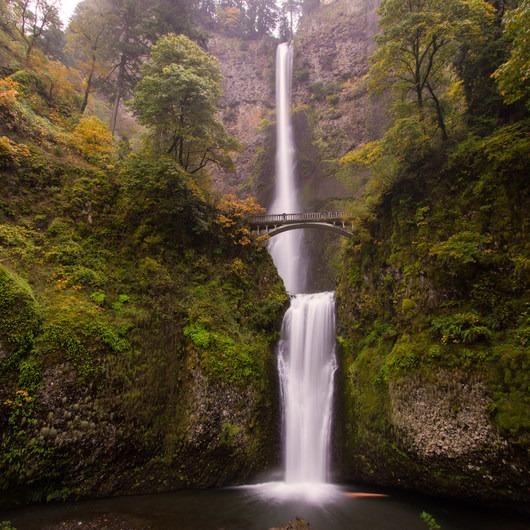 Multnomah Falls Hike to Multnomah Creek