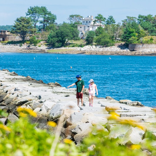 Odiorne Point State Park + Seacoast Science Center