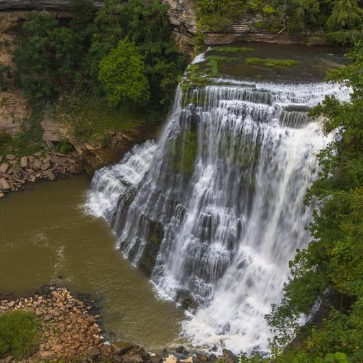 Burgess Falls State Park Waterfall