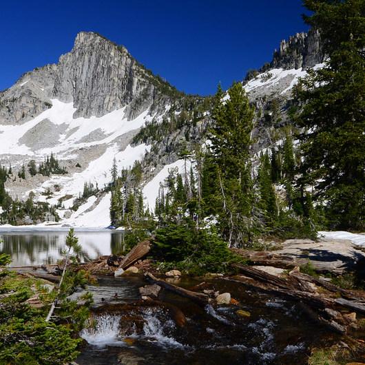 Echo Lake and Traverse Lake