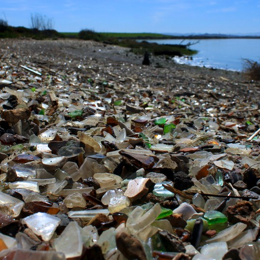 Napa River Bay Trail + Glass Beach