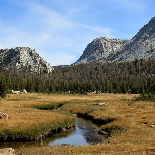 Tuolumne Meadows to Yosemite Valley via Vogelsang Camp