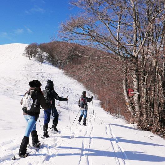 Rifugio La Fossa Snowshoe, Monte Terminillo
