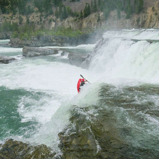 Kootenai Falls: Park and Huck