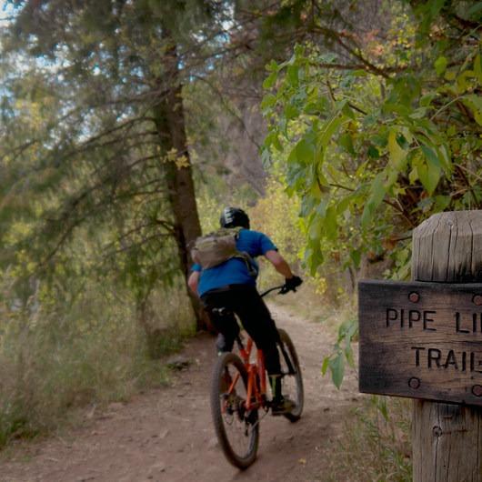 Mill Creek Pipeline Mountain Bike Trail via Rattlesnake Gluch