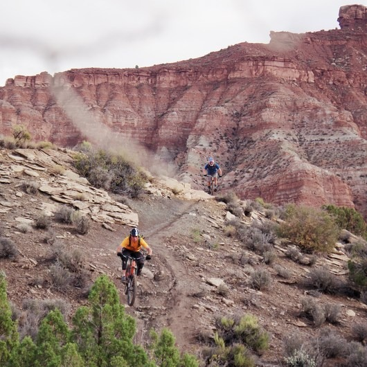 Hurricane Cliffs Mountain Biking: JEM