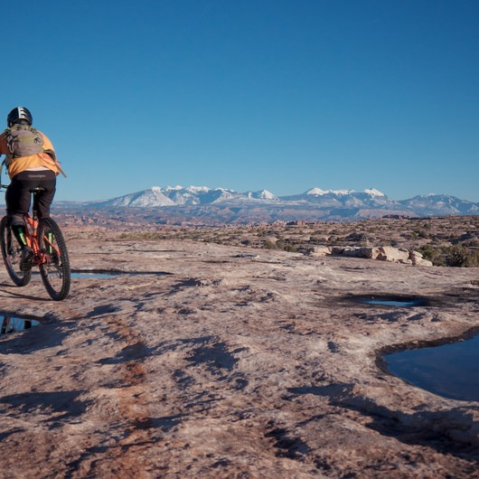 MOAB Brand Mountain Bike Trails: Circle O