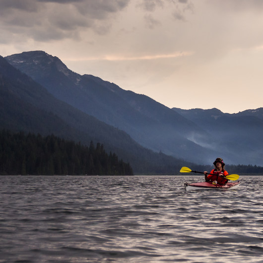 Lake Wenatchee Sea Kayaking