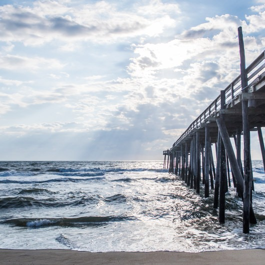 Rodanthe Pier + Beach Access