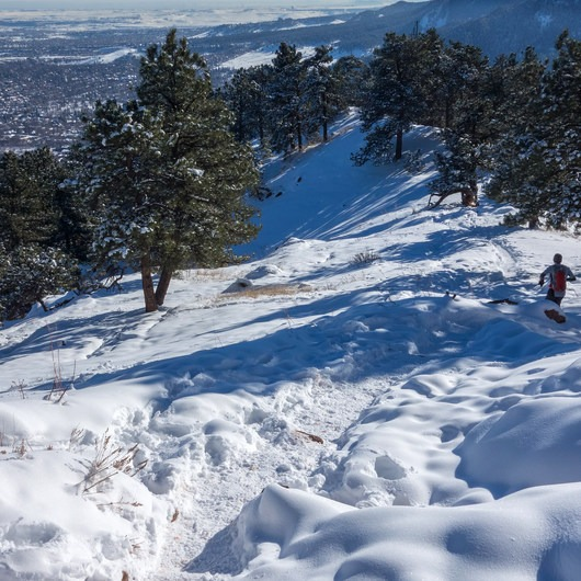 Mount Sanitas, Winter Hike