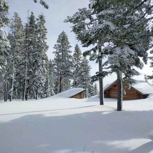 Nordeen Shelter via Snowshoe Long Loop