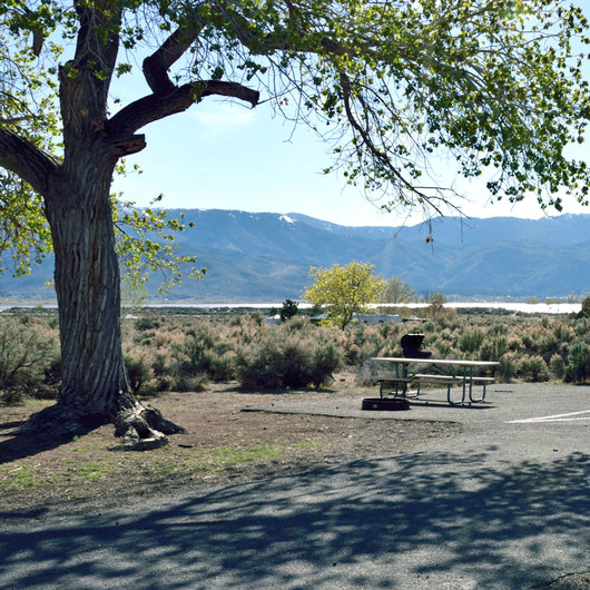Washoe Lake State Park Campground