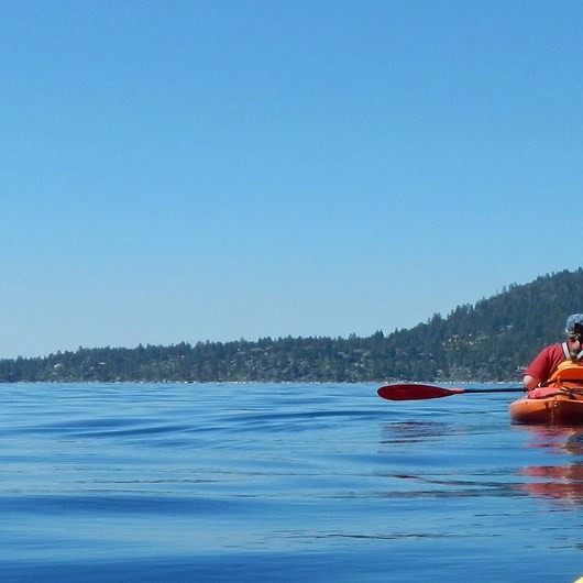 Lake Tahoe, Sand Harbor to Kings Beach Paddle