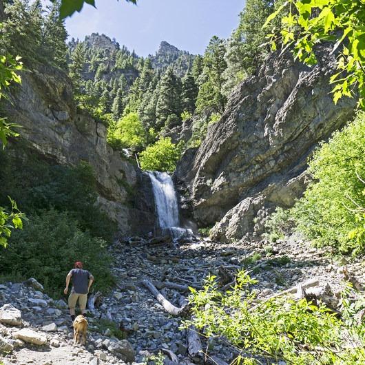 Upper Falls, Utah