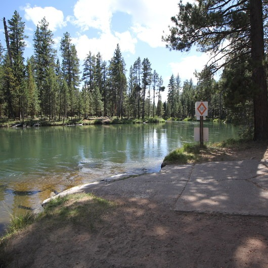 Wyeth Campground, Deschutes River