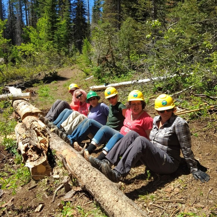 The Bold Betties: Idaho Trails Association Women's-Only Trail Maintenance