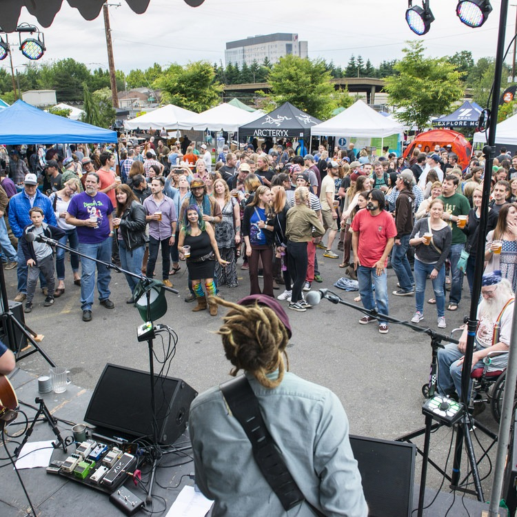Outdoor Project's 5th Annual Summer Solstice Block Party